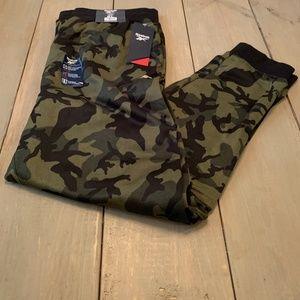 Reebok Men's Fleece Joggers Camo XL